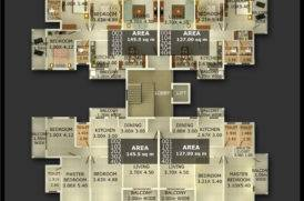 Floor Plan of Best Apartment Projects in Goa