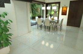 Dining Area of Villa Project in North Goa