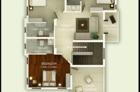 Villa Project First Floor Plan