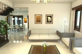 Living Area of Villa in North Goa