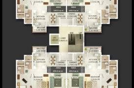 Block D2 Floor Plan