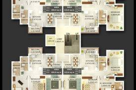 Floor Plan of RERA Registered Projects