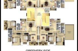 Plan of 2BHK Apartments for Sale in Mapusa