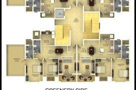 2BHK-3BHK Zion Square Apartments Plan
