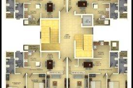 Plan of Flats for Sale in Mapusa